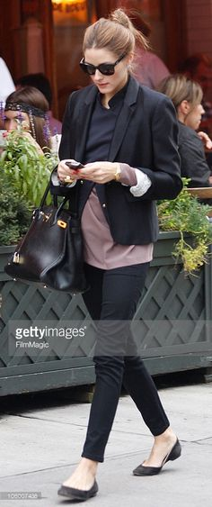 Olivia Palmero is seen on the streets of Manhattan on October 31 2009... News Photo | Getty Images