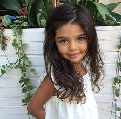 Samsara Leela • 4 • Tamil South Indian, Polish, Belarusian & Lithuanian ♥️ Follow instagram.com/kids.mixed