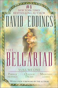 The Belgariad series, by David Eddings. A great fantasy series that got me on the path of having the fantasy genre as my favorite literary genre.
