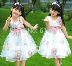 $18.99 (Buy here: https://alitems.com/g/1e8d114494ebda23ff8b16525dc3e8/?i=5&ulp=https%3A%2F%2Fwww.aliexpress.com%2Fitem%2F3-4-5-6-7-11-Children-s-clothing-female-2014-summer-kid-s-child-rose%2F1284803441.html ) 3 4 5 6 7 -11 Children's clothing female 2016 summer kid's child rose expansion bottom onepiece dress little girl princess dress for just $18.99