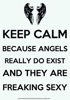 Every book I read lately has smokin hot angels in it! Daughter of Smoke and Bone, Mortal Instruments, Hush Hush...