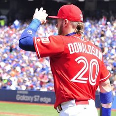 The Bringer of Rain has brought it. Baseball Games, Baseball Players, Josh Donaldson, Toronto Blue Jays, Go Blue, Major League, Athlete, Sports, Bowling