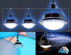 Ultra Bright 23 LED Camping Tent Light Battery Lantern Fishing Lamp