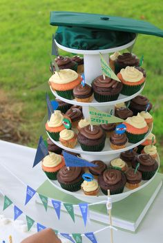 Showcase your goodies at your graduation party!