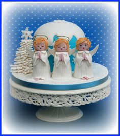 342 Best Christmas Cakes Images On Pinterest