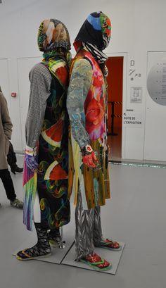 MANON KÜNDIG Collection Bowerbird 2012 MA collection Royal Academy of Fine Arts Anvers   Exposition ARRRGH!