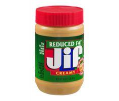 Арахисовое масло Jif Creamy Reduced Fat, 454 грамм Неймовірно смачна арахісова паста)))