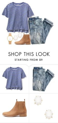 """""""seven spanish angels"""" by legitimately-kierstin ❤ liked on Polyvore featuring J.Crew, Mollini, Kendra Scott and Kate Spade"""