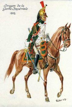 Dragoon of the Imperial Guard 1812:Dragone della guardia imperiale francese