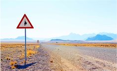 A land of big blue skies & excellent infrastructure – including the dirt roads. #SecretAfrica #RoadTrip #Namibia