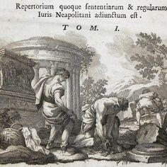 Particolare marca tipografica per il frontespizio del Repertorium Sententiarum et Regularum di Brederode Pietro Cornelio stampato a Napoli nel 1775  [www.libreriabonfanti.it]