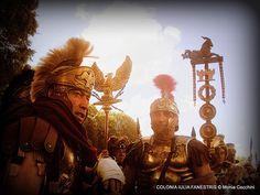 LEGATO E TRIBUNO - Rievocatori della COLONIA IULIA FANESTRIS rievocazione storica- Roman Reenactors of COLONIA IULIA FANESTRIS Roman Army- Roman legion