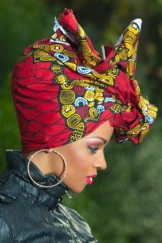 Modern African Hairstyles 2015: Head Wraps | Hairstyles 2015 / 2016, Hair Colors and Haircuts