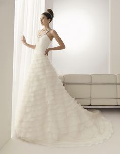 Aire Barcelona Bridal Gown Style - Bayona