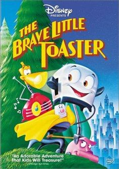 The Brave Little Toaster (1987) Poster---one of my favorite childhood movies :))))