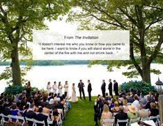 30 Perfect Ceremony Reading Ideas // TheKnot.com