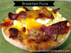 Healthy Breakfast Recipes for Kids: Breakfast Pizza
