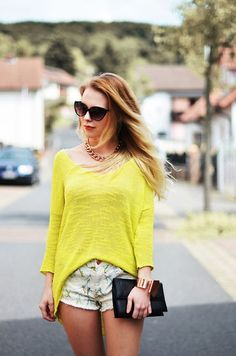 Zara Sweater, Mango Necklace
