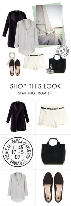 """""""Sail away with me"""" by isidora ❤ liked on Polyvore featuring Vince, Fumiko, Avignon, Helmut Lang and Pull&Bear"""