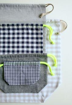 Easy Drawstring Bag: Four New聽Sizes!