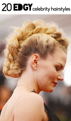 20 of the edgiest celebrity hairstyles of all time.