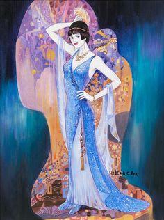 Helena Lam Deco Inspired Paintings  artodyssey1.blogspot.ca