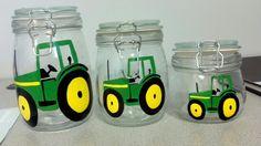 John deere tractor canister set