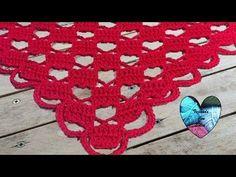 Precioso chal tejido a crochet facil de tejer / Châle au crochet facil - YouTube