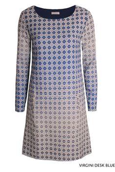 Virgini Desk Blue von KD Klaus Dilkrath #kdklausdilkrath #kd #kd12 #dilkrath #KDKlausDilkrath #VirginiDress #blue #fashion #dress