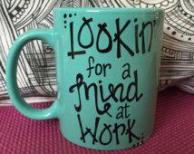 Schuyler Sisters themed mug