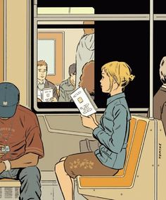 Adrian Tomine (American, b. 1974) for the New Yorker