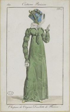 1811. Veil or flounce?