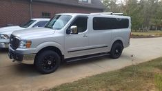 Tank side view with new rims/tires/running boards - Tank - Photo Gallery - Nissan NV Owners Forum