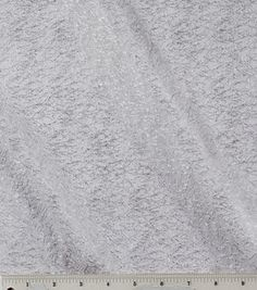 Fabric to make Bedroom Curtains.    All That Glitters- Glitter Mesh Silver Fabric: special occasion fabric: apparel fabric: fabric: Shop | Joann.com