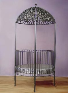 Crib but since I have no children I'd use as a planter, how lovely it would be with weeping ivy and ferns