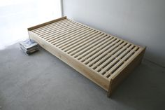 White Wood, Bed Frame, Furniture Design, Household, Woodworking, Plates, Storage, Home Decor, Bedrooms