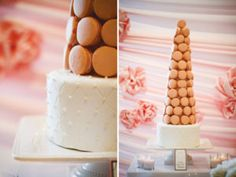chanel-french-bridal-shower-macaroon-tower