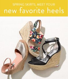 spring 2015 fashion trends  wedge espadrilles and sandals Mom Fashion,  Spring Fashion, Womens fe1768729f4