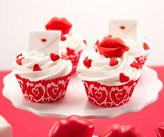 swakcupcakes #valentinecupcakes