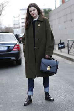 FLARE on Tumblr | Canada's Fashion Magazine: FLARE Haute Couture in Paris FW'14 Street Style /...