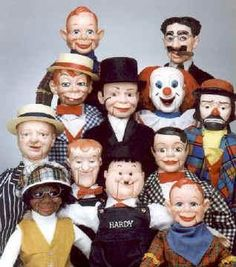 what's the group noun for Ventriloquist dummies -- an abomination? a wrongness?