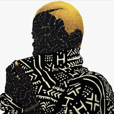 Toyin Odutola (born 1985) is an artist who was born in Ife, Nigeria. Odutola is best known for her self-portrait drawings, entirely or primarily done in black pen ink.The National Museum of African Art (Washington DC) and the Honolulu Museum of Art are among the public collections holding works by Odutola.