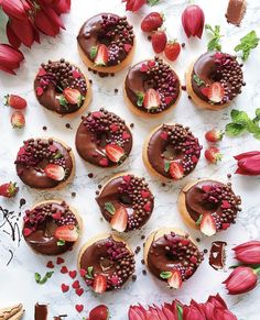 [New] The 10 Best Dessert Ideas Today (with Pictures) - You Doughnut know how much i love you Delicious Donuts, Delicious Desserts, Yummy Food, Dessert Drinks, Dessert Recipes, Dessert Ideas, Donuts Donuts, Food Wallpaper, Cute Desserts