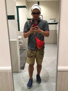 今日もポロシャツ 最近落ち着いてる気がする 熱闘甲子園が今年も終わりました😭 やっぱりエンディング