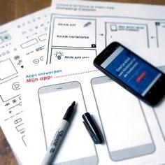 Bedenk, ontwerp en bouw een App
