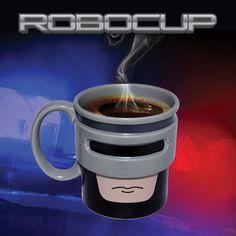 Novelty Robocup Mug Ceramic Crime Fighting Tea Coffee Mug Cup #ThumbsUp #Mugs