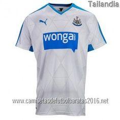 Camisetas de futbol baratas tailandia Newcastle United 2016 2ª equipación €20.99