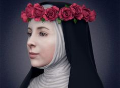This is the face of Santa Rosa de Lima, rebuilt by 3D designer Cicero Moraes from the study of her skull, which is in the Convent of Santo Domingo in Lima, Peru.