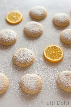 Meyer Lemon Cloud Cookies - melt in your mouth lemon cookies!