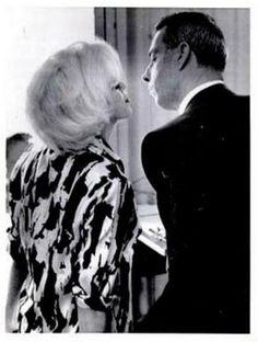 Marilyn & Joe. many be the last known pic of them together